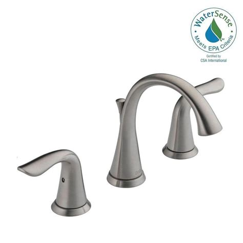 delta lahara 8 in widespread 2handle bathroom faucet