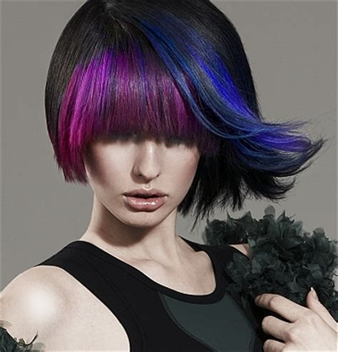 what edgy colors mix well in hair 2017 hottest edgy hair color ideas hairstyles 2018 new