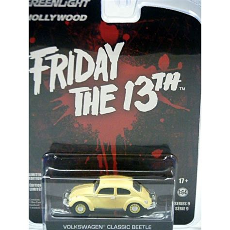 Greenlight Friday The 13th Vw Classic Bettle greenlight friday the 13th volkswagen beetle global diecast direct