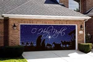 garage door decorations