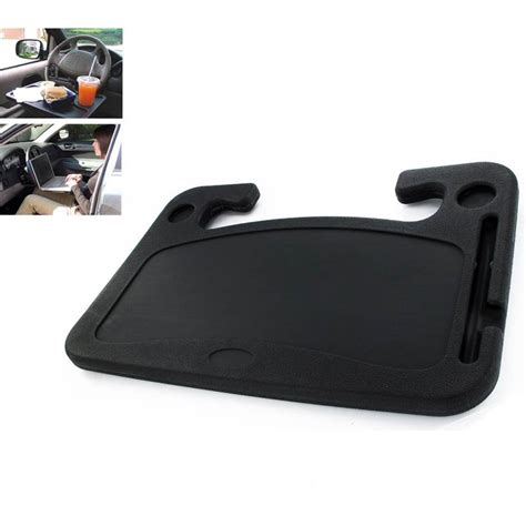 Steering Wheel Laptop Desk Drivers Car Worktop Car Steering Wheel Desk Tray Laptop Food Coffee Drink Holder Ebay