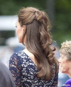half up half down hairstyles kate middleton 1000 images about wedding 2014 bridal party on pinterest