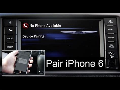 Jeep Phone Pairing Chrysler Phone Pair Bluetooth Setup Uconnect 430 System W