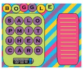 Boggle For The Smartboard By Teachertastic Teachers Pay Teachers Free Smartboard Templates