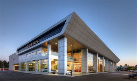 luxury car dealership earns leed silver construction canada