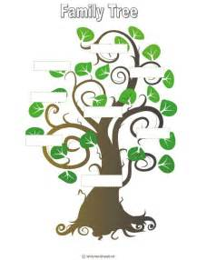 fill in the blank family tree template blank family tree template for home sweet home