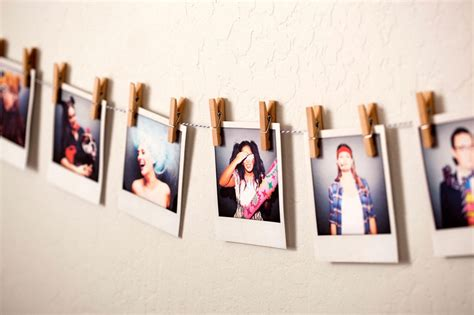hang pictures 3 ways to turn photos into custom garlands brit co
