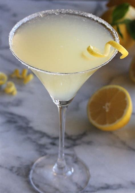 the perfect lemon drop martini recipe lemon sorbet