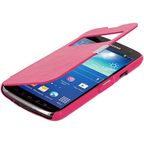 ebay open case color case open front wallet hard cover for samsung galaxy