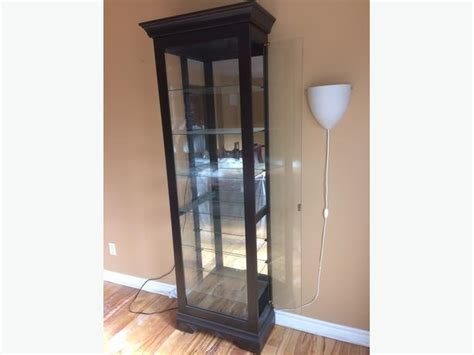 Curio Cabinets For Sale In Ottawa Glass Display Cabinet For Sale Nepean Ottawa