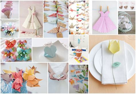 Origami Ideas - stylish origami wedding wedding ideas