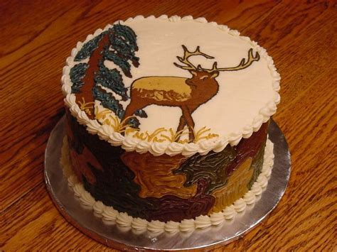 Elk Cake Cake Ideas and Designs