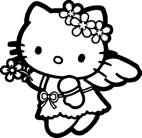 hello kitty coloring pages with crayons hello kitty coloring page hello kitty and kitty