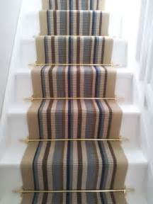 Stair Carpet Runners Uk by Stair Runner Carpet Fitting To Straight Stairs With Stair