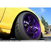 Purple Volk TE37 Wheel  BenLevycom