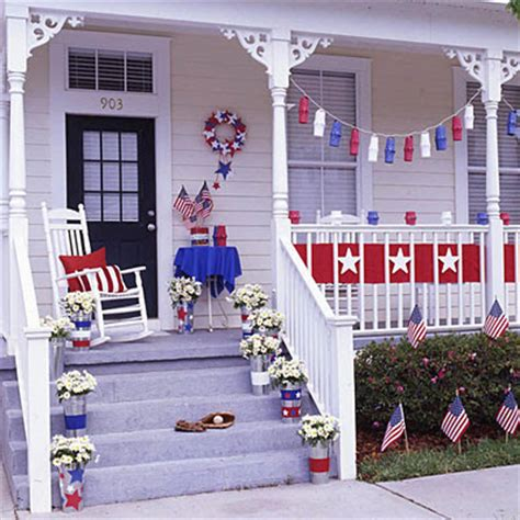 red white and blue home decor two men and a little farm inspiration thursday red white