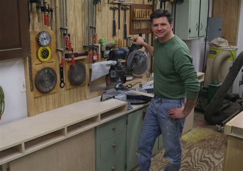 build  miter  station  storage cabinets jon