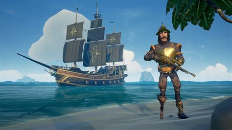 Black And The Ship Of Thieves sea of thieves update fixes flying ships teases new