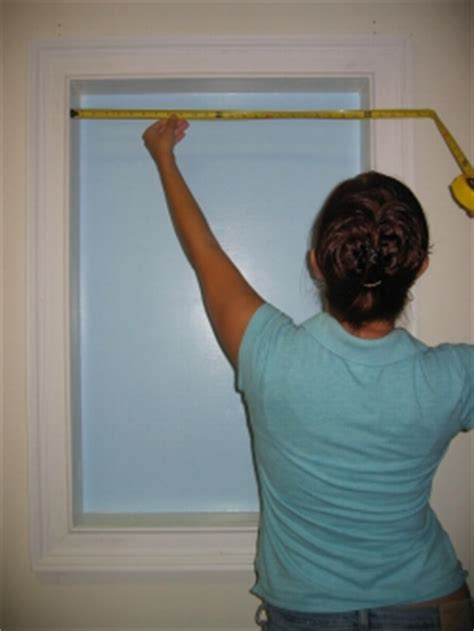 How Do You Measure A L Shade by Buy Rite Blinds Measuring Inside Mount For Horizontal