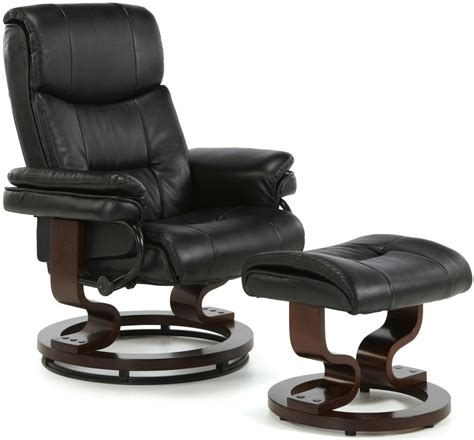 leather recliner chair uk buy serene moss black faux leather recliner chair online