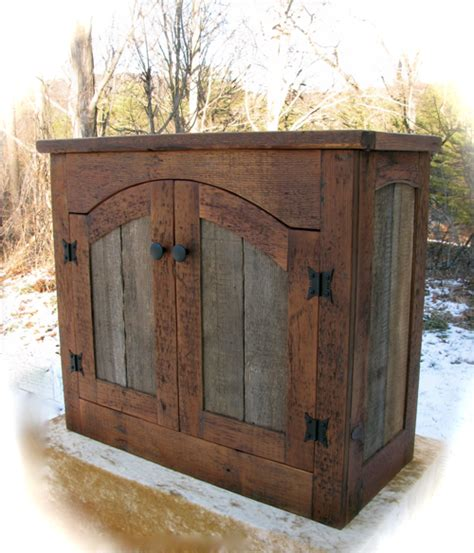 barn door cabinets for sale custom rustic furniture by don mcaulay rustic tv lift