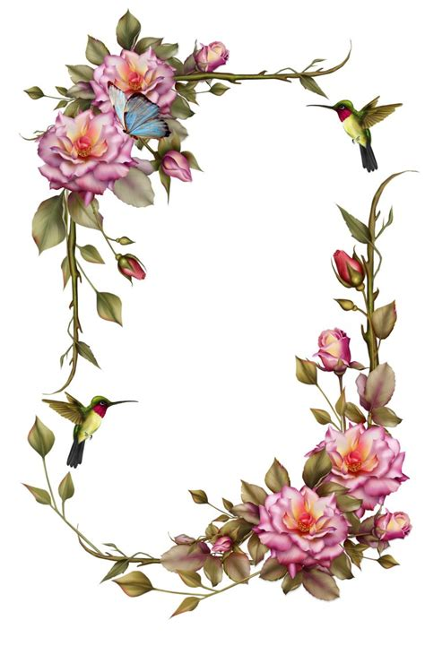 printable pink flowers 25 best ideas about flower frame on pinterest