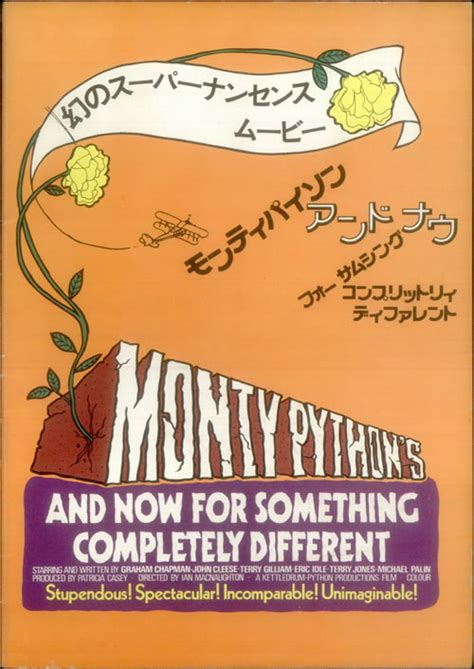 And Now For Something A Different by Monty Python And Now For Something Completely Different