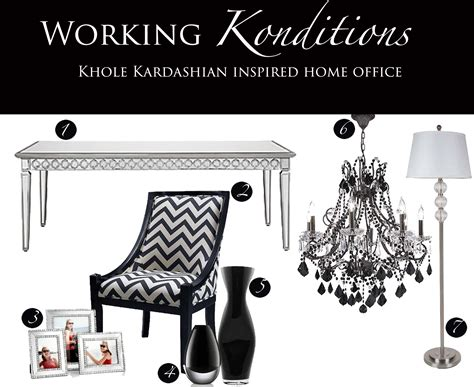 Macys Home Decor working konditions khloe kardashian inspired home office