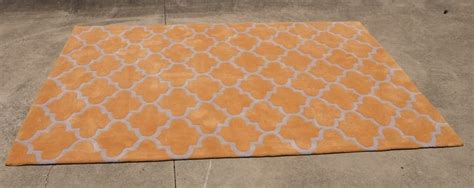 Geometric Orange Rug by Orange Geometric Rug Rocket Events