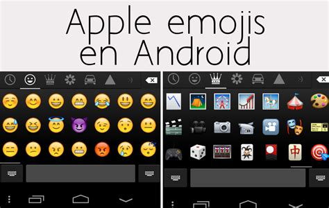 iphone emojis on android c 243 mo instalar los emojis iphone en tu android appbb