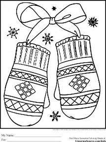 free house in snow winter coloring pages