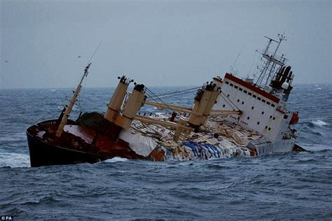 boat crash english channel photos of ships being battered in vicious storms daily