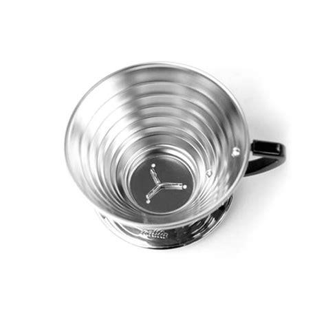 Kalita Wave Dripper Ceramic 185 kalita wave stainless dripper 155 185 duismann coffee