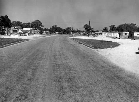 Sarasota County Florida Court Records Florida Memory View Of Road 45 Sarasota County Florida