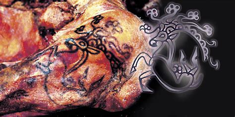 tattoo in prehistory siberian princess reveals her 2 500 year old tattoos