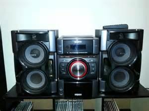 sony home stereo system city