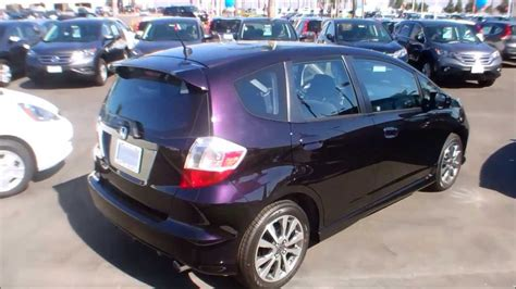 purple honda fit 2013 honda fit sport in midnight plum purple color