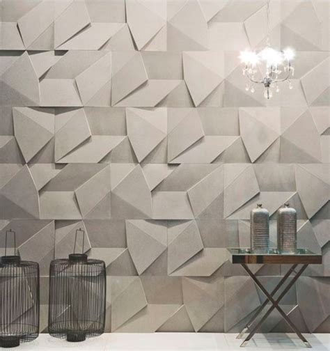 Geometric Pattern Wall Panel | 3d wall panels and coverings to blow your mind 31 ideas