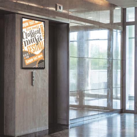 cornice 100 x 140 cornici con led porta poster magnetiche 100x140 studio t