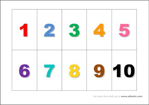 printable numbers cards 1 20 printable number flash cards 1 20 search results