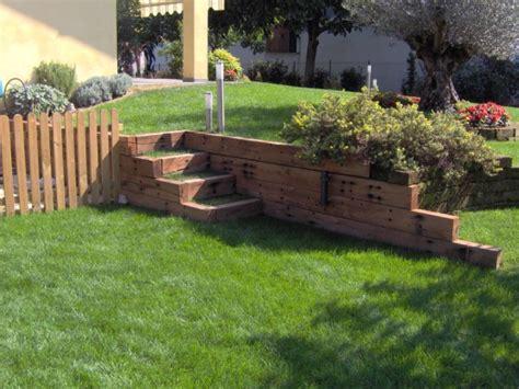 giardino in discesa come realizzare un giardino in pendenza idee e consigli