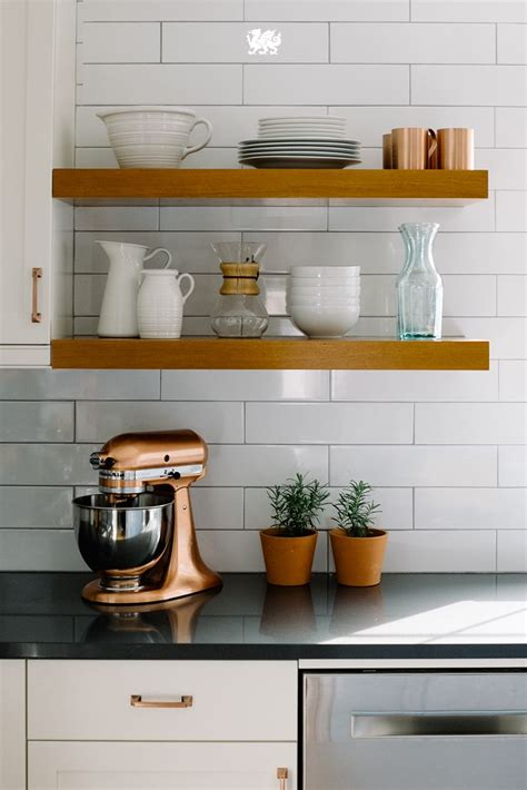 kitchen open shelving 1000 ideas about shelves for kitchen on pinterest