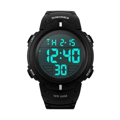 Terbatas Jam Tangan Pria Original Skmei Trendy Stainless jual skmei dg1068 original pioneer sport digital jam tangan pria harga kualitas