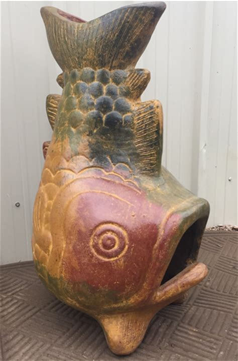Fish Chiminea Chiminea Jumbo Fish