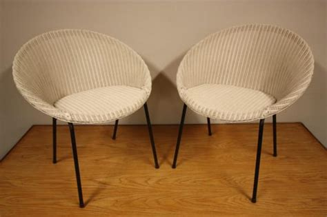 lloyd loom chairs 1950 antiques atlas smart pair of 1950 s lloyd loom armchairs