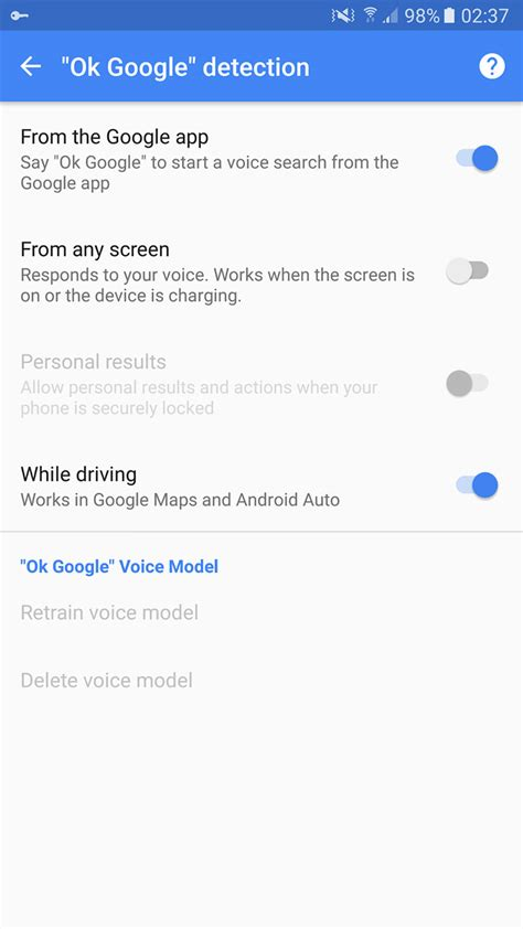ok google google begins rolling out quot ok google quot support for android