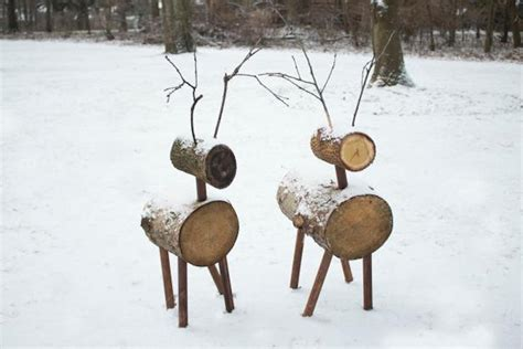 how to make reindeer lawn ornaments simplemost