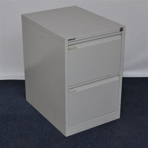 Grey Filing Cabinet Bisley Bs2e Goose Grey 2 Drawer Filing Cabinet