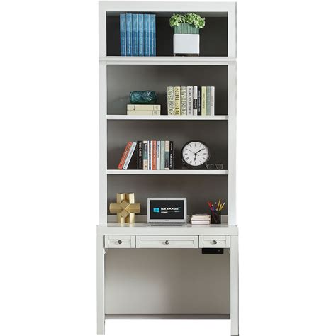 modern white writing desk modern white writing desk and hutch rc willey