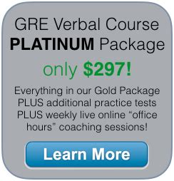 Gre Verbal Section Tips by Gre Prep Courses Choose The Right One For You